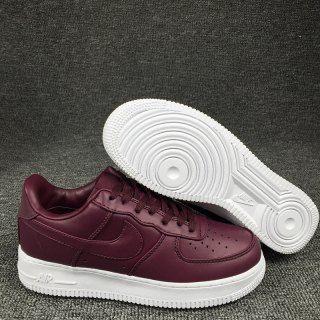 Mens Womens Sneakers Nike Air Force 1 Low Burgundy White 555106 066 Nike Sneakers Women Nike Air Force Nike