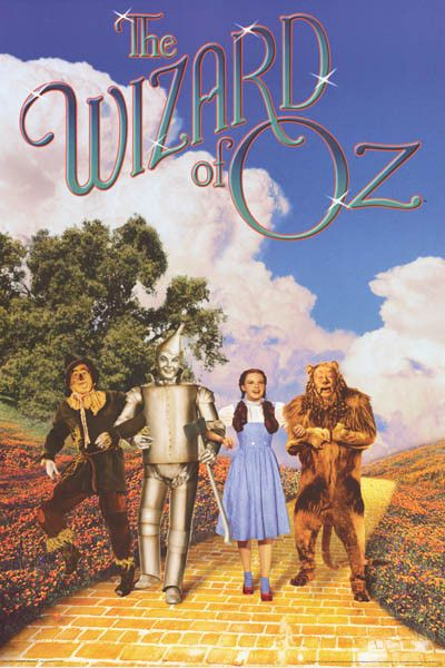 Wizard of Oz Yellow Brick Road Movie Cast Poster 24x36