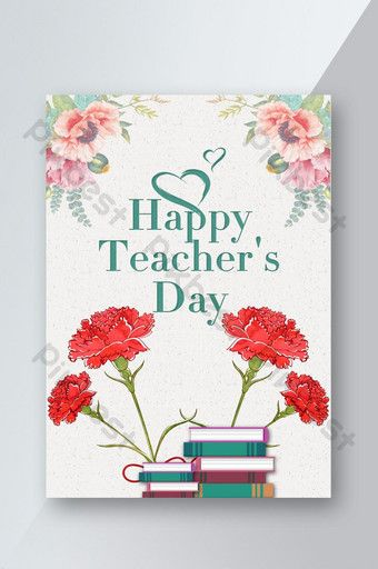 Fashion Teacher S Day Greeting Card Psd Free Download Pikbest Teachers Day Greeting Card Teachers Day Greetings Teachers Day