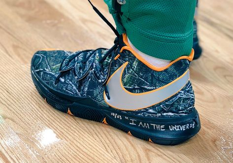 282c43c214b0 Kyrie Irving Debuts Nike Kyrie 5 PE A Collaboration With Taco Of Odd Future