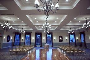Indoor Wedding Ceremony Set Up Weddinginspirtation Dykerbeachgolfcourse Weddingvenue Event Wedding Venues Indoor Wedding Ceremonies Brooklyn Wedding Venues