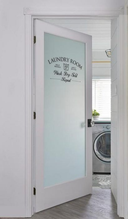 Diy Bathroom Door Sign Frosted Glass 50 Best Ideas Turquoise Laundry Rooms Dream Laundry Room Laundry Room