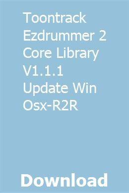 Ezdrummer 2 expansion packs free download mac