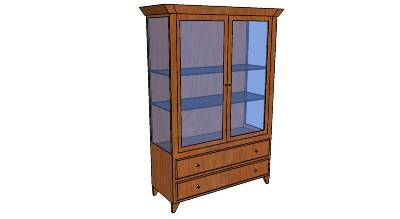 Pin On China Cabinet Plans China Hutch Plans