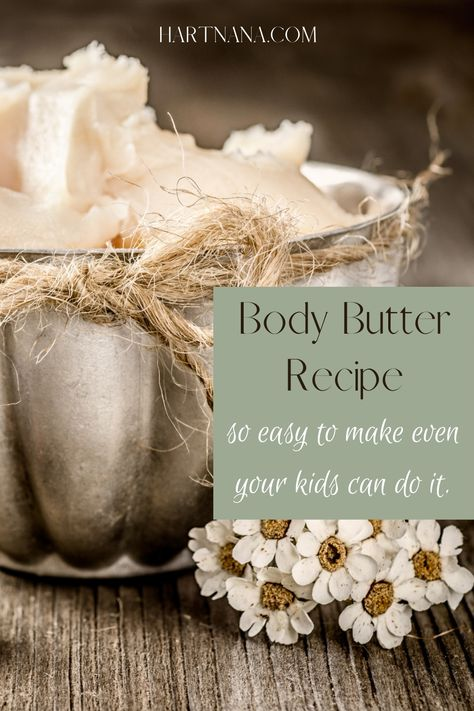 This collection of body butter recipes features recipes for making goat's milk lotion and body butter that are so easy to make that even your kids can do it. Why use harsh chemical lotions when you can make your own natural ingredient and healthy lotions at home?