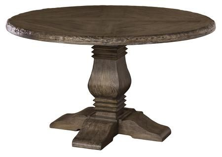 5676dtrd Lorient 54 Round Dining Table With Sandblasted Edges