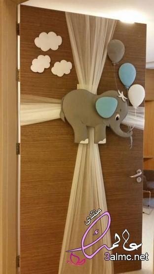 تزيين غرف مواليد بالبالونات زينة مولود 2020 افكار لتزين حديثي الولادة غرفة الولادةbaby Baby Shower Souvenirs Cloud Decoration Boy Decor