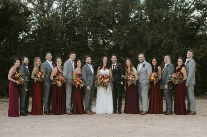 28 Ideas Wedding Burgundy Black Groomsmen Wedding Groomsmen Attire Bridesmaid Dress Shades Burgundy And Grey Wedding