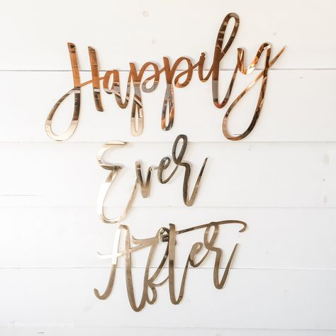 Happily Ever After // Wedding Decor // Large Wedding Signs // Large Wedding Backdrop // Wedding Signage // Wedding Backdrop // Backdrop