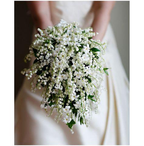Bouquet Sposa Fiori Piccoli.Giacinti E Mughetti Bouquet Inverno Primavera Bianco Fiori Piccoli
