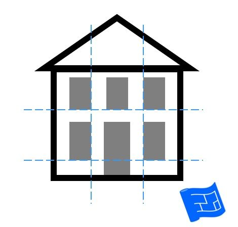 Window Placement Preserving Horizontal And Vertical Lines Click Through To Www Houseplanshelper Co In 2020 Interior Design Classes Window Design Types Of Window Glass
