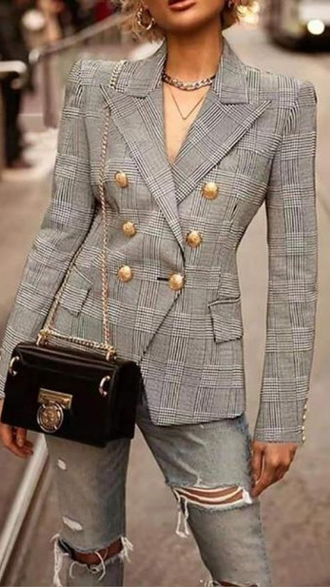 Early Fall Blazer Fashion Collection