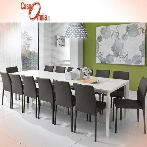 Gambe In Alluminio Per Tavoli.Tavolo Da Pranzo Allungabile Big Flat Tavoli Da Pranzo Tavolo