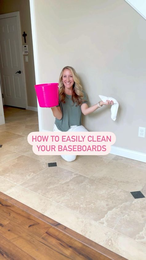 Cleaning tips! How to clean baseboards. Spring cleaning tips. Cleaning motivation for deep cleaning