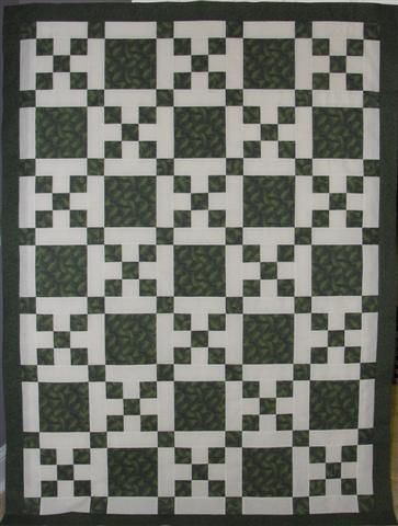 Sherry Gray And I Have Been Working On Instructions For Constructing The Si In 2020 Double Irish Chain Quilt Irish Chain Quilt Pattern Double Irish Chain Quilt Pattern