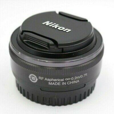Nikon 1 Nikkor 10mm F2 8 Af Lens Black For Nikon 1 Mount Lens Nikon Stuff To Buy