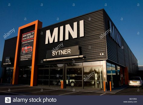 BMW Sytner Mini car showroom and forecourt Stock Photo, Royalty Free Image: 25796606 - Alamy