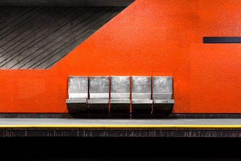 Photography Montreal Metros Underground Architecture By Chris - Vibrant photos of international subways capture their unappreciated beauty