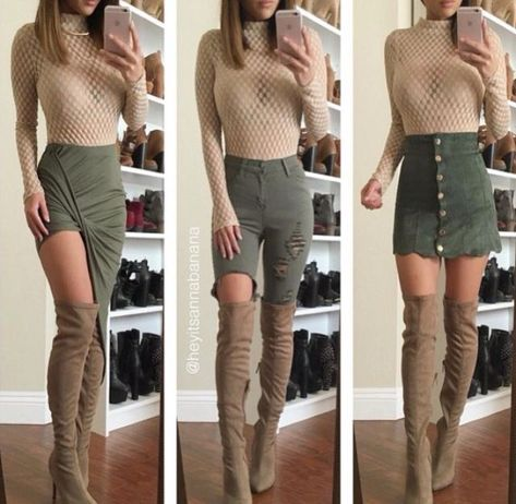 100+ Best Knee High Boots 2019 | Knee High Boots Outfits #kneehighboots #Fashion