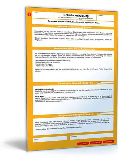 Lovable Unterweisungsnachweis Vorlage Word Betriebsanweisung Vorlagen Word Unterweisung