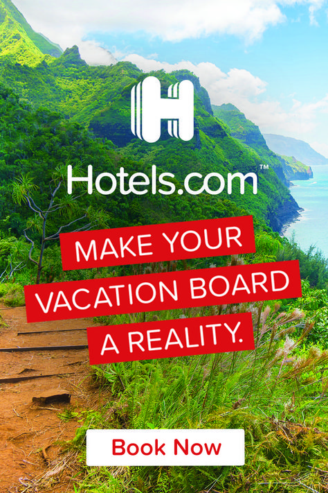 What are you waiting for? Book your next trip with Hotels.com