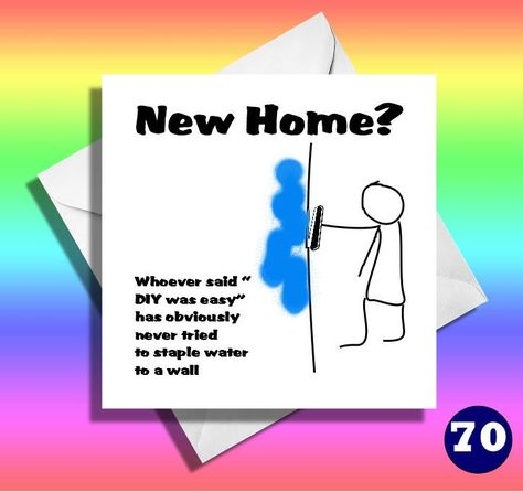 Funny Stick men card Funny new home card,friend,mate,greetings card,brother,sister,hilarious card,great new house card,house warming card by LOLcardshop on Etsy