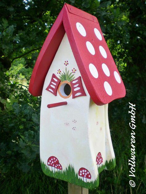 15 vogelhäuschenideen  vogelhäuschen vogelhaus bemalen