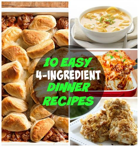 No time to shop and you need a dinner recipe that only requires 4 ingredients? I have 10 easy 4 ingredient dinner recipes that your family will love. (scheduled via http://www.tailwindapp.com?utm_source=pinterest&utm_medium=twpin&utm_content=post793863&utm_campaign=scheduler_attribution)