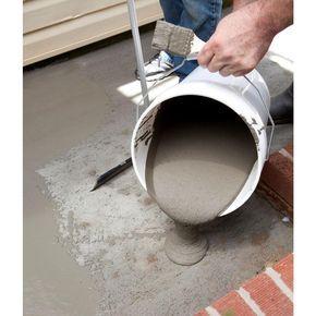 Sakrete 20 Lb Flo Coat Resurfacer 65450007 The Home Depot Concrete Floor Repair Concrete Floors Diy Brick Exterior House