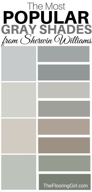 What Are The Most Popular Shades Of Gray Paint The Flooring Girl Shades Of Grey Paint Grey Purple Paint Hgtv Paint Colors