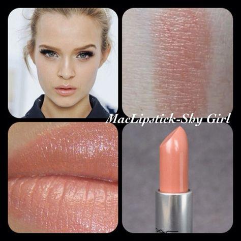 mac lipstick peach blossom - Google Search | Hair and Makeup | Pinterest