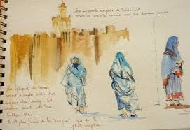 Resultat De Recherche D Images Pour Carnet Voyage Maroc Delacroix Carnets De Voyage Maroc Voyage Voyage Aquarelle
