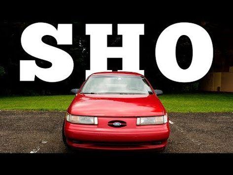 Motorweek Retro Review  Ford Taurus Sho Youtube Sho Pinterest Ford Taurus Sho Ford And Manual Transmission