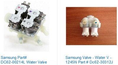 Samsung Washer Water Inlet Valve Samsung Washer Samsung Washing Machine Refrigeration And Air Conditioning