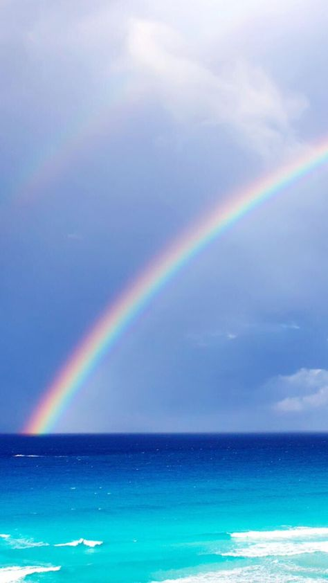 Rainbow Wallpaper For Iphone And Android In 2020 Rainbow
