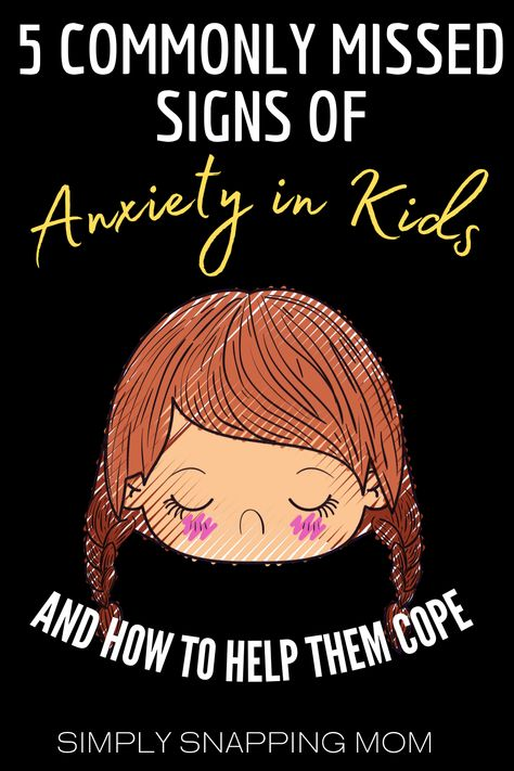 Parenting Advice for helping kids cope with anxiety