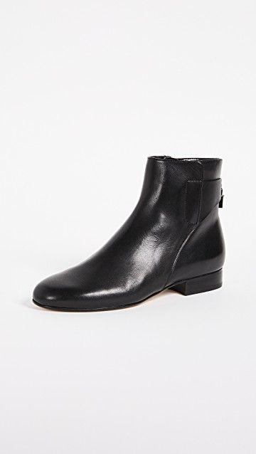 52ed8c9ef27ae MICHAEL MICHAEL KORS | Mira Flat Ankle Booties #Shoes #MICHAEL ...