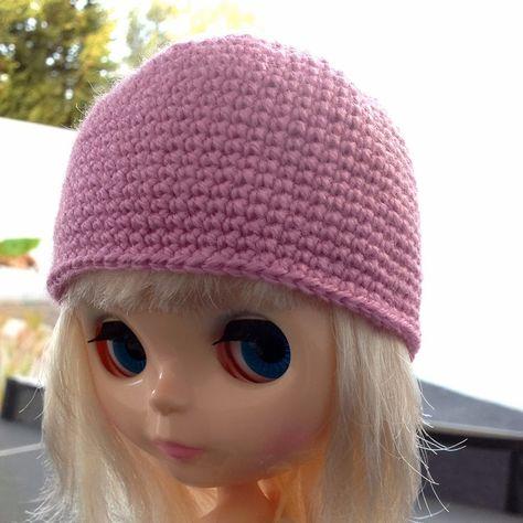 Mira qué punto!  Patrón de gorro para Blythe con cualquier lana o ... 1fbc8078d30
