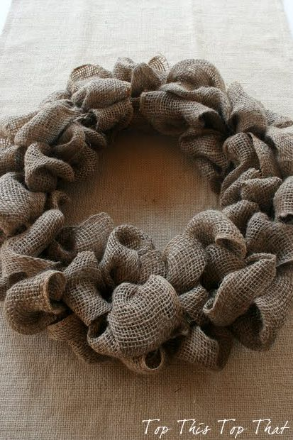 Easiest burlap wreath tutorial EVER and 45 OF THE BEST FRENCH INSPIRED CRAFT TUTORIALS EVER with their links! Absolutely incredible. GIFTS, HOUSE, EVENT, WEDDINGS, DECOR, FLOWERS, COOKIES.