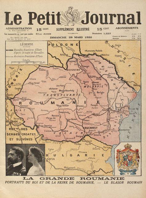 Le Petit Journal Număr Dedicat Romaniei Avand Pe Prima Pagină