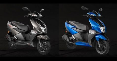 Tvs Ntorq Gets Two New Colour Options Bike News 125cc Scooter