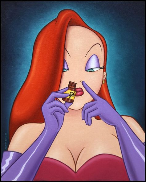 5 Super Trippy Kids Movies You Had No Idea About - Jessica Rabbit
