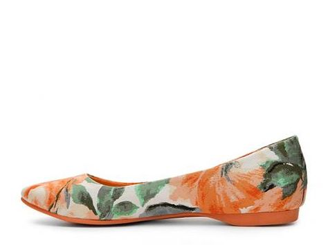Rocket Dog Chamay Floral Flat Flats Women's Shoes DSW