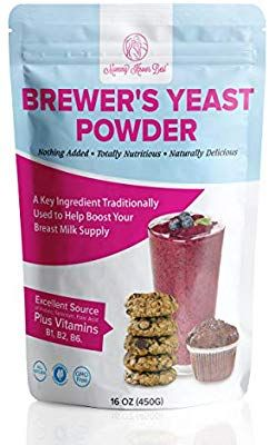 Amazon Com Brewers Yeast Powder For Lactation Mommy Knows Best Brewer S Yeast For Breastfeeding Mothers Mild Nutty Brewers Yeast Yeast Baby Food Recipes