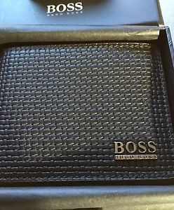 90027a217bd Hugo Boss Men's Wallet Brand New Black | eBay