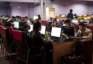 موضوع تعبير عن مقاهي الانترنت بالعناصر لطلاب المدارس World News Video Bribery Internet