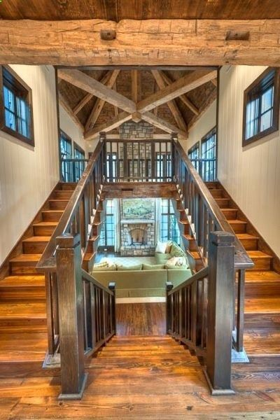 Definitely Doing This When I Design My Own House Someday Love It Barn House Plans Staircase Design Rustic House
