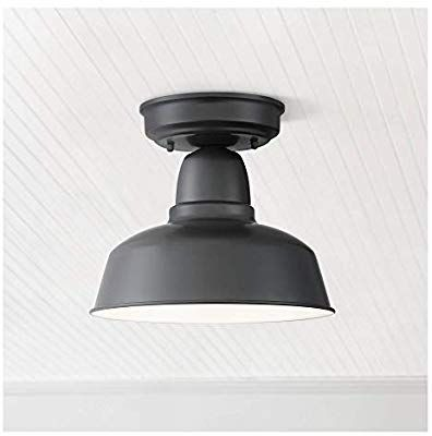 Urban Barn 10 1 4 Wide Black Outdoor Ceiling Light Amazon Com Outdoor Ceiling Lights Ceiling Lights Black Ceiling Lighting