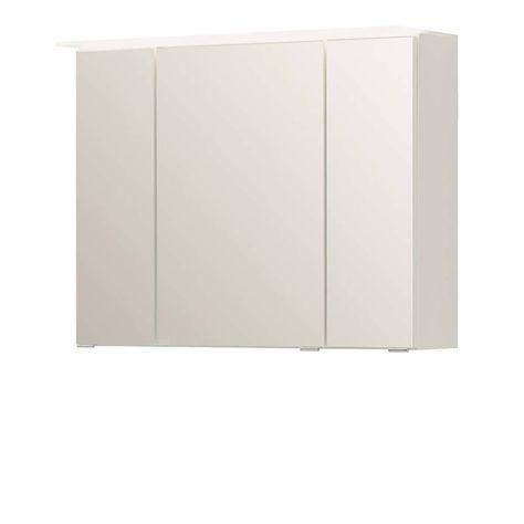 3D Spiegelschrank in Weiß 80 cm Jetzt bestellen unter   - badezimmer kommode weiß