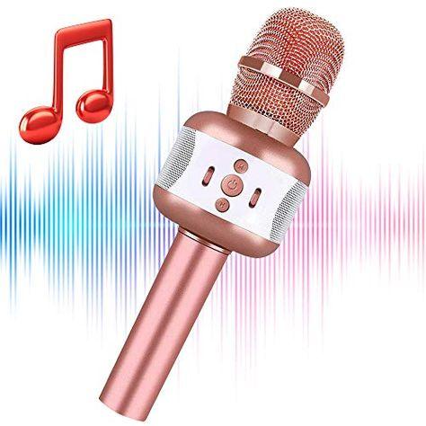 DISNEY FROZEN ELSA MICROPHONE SING VOICE TUBE TOY MUSIC SOUND LIGHT XMAS KIDS